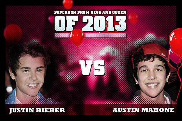 Justin Bieber Austin Mahone Prom King 2013