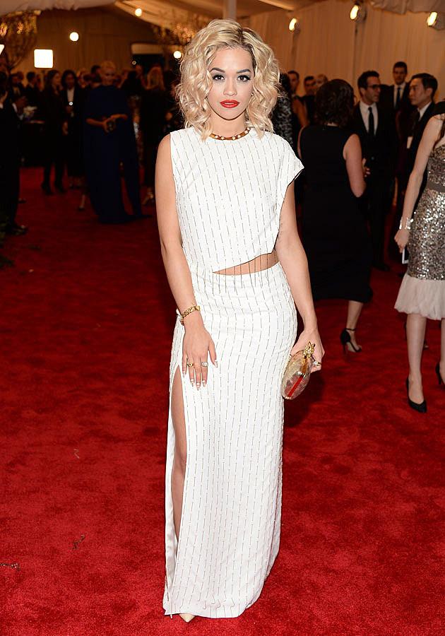 Rita Ora 2013 Met Gala
