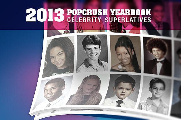 2013 PopCrush Celebrity Yearbook Superlatives