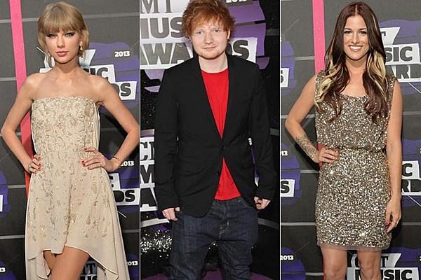 See Taylor Swift, Ed Sheeran + More at the 2013 CMT Music Awards [Pics]