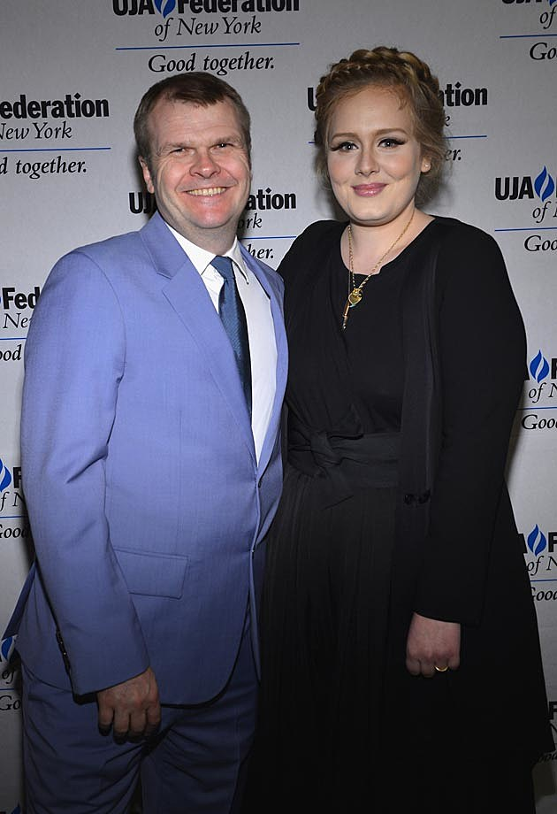 Adele Rob Stringer Columbia