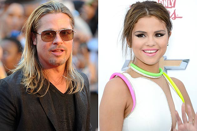 Brad Pitt Selena Gomez