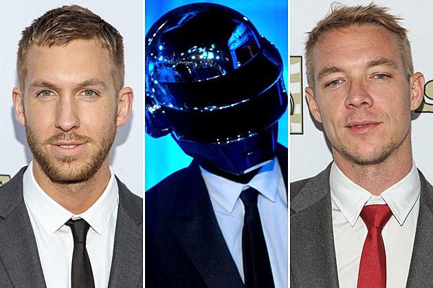 Calvin Harris Daft Punk Diplo