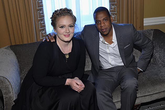 Adele Jay-Z Columbia Records