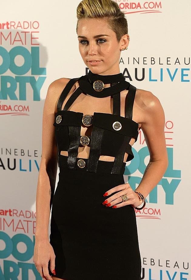 Miley Cyrus Vintage Versace