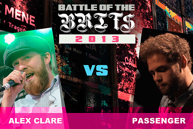 Alex Clare Passenger Battle of the Brits