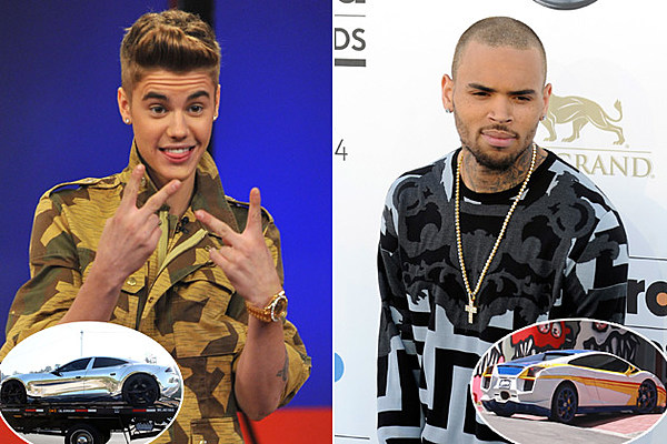 Justin Bieber vs. Chris Brown: Who Has the Coolest Car? – Readers Poll