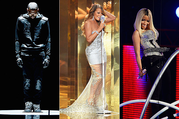 Chris Brown Mariah Carey Nicki Minaj BET Awards