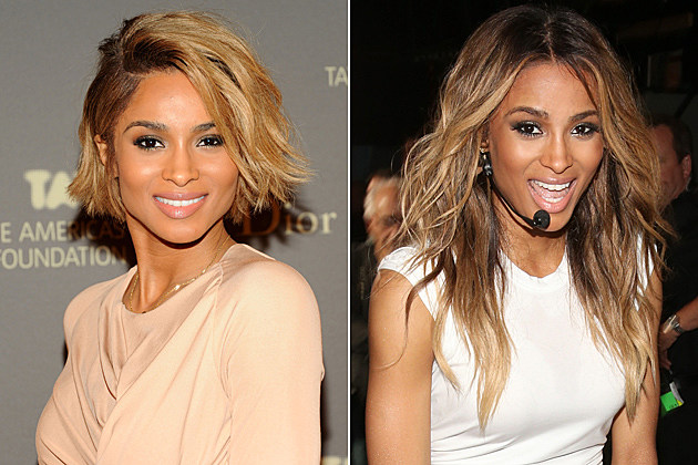 Ciara Short Hair and Long Hair
