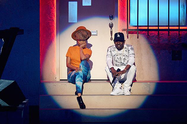 Erykah Badu Kendrick Lamar BET Awards