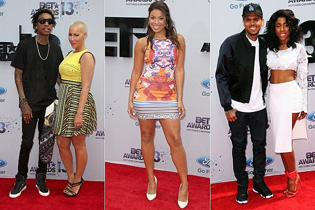 Wiz Khalifa Amber Rose Jordin Sparks Chris Brown Sevyn Streeter