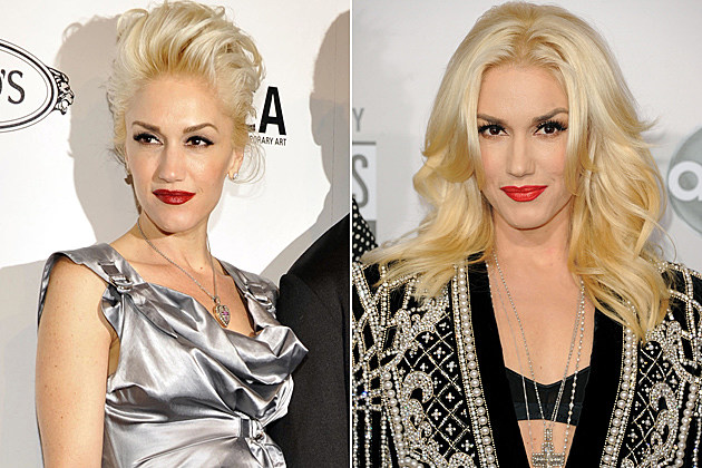 Gwen Stefani Short Hair and Long Hair