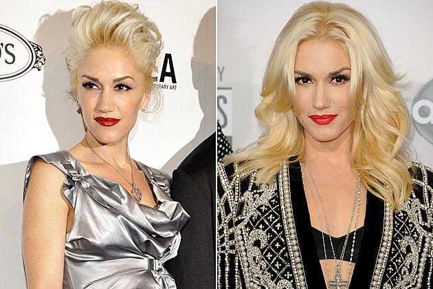Gwen Stefani Short Hair and Long Hair