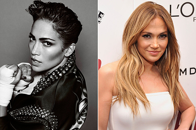 Jennifer Lopez Short Hair and Long Hair