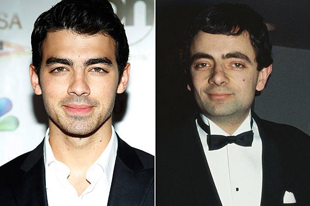 Joe Jonas Rowan Atkinson