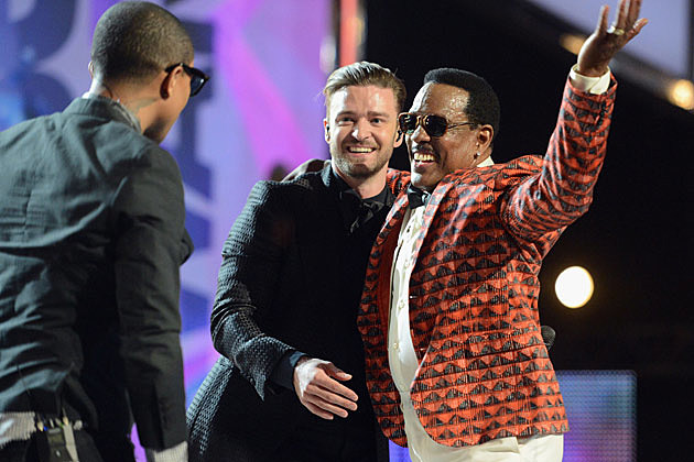 Justin Timberlake Charlie Wilson BET Awards