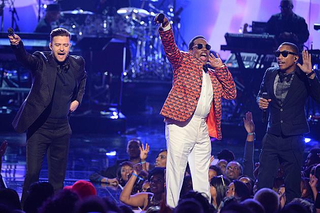 Justin Timberlake Charlie Wilson Pharrell BET Awards