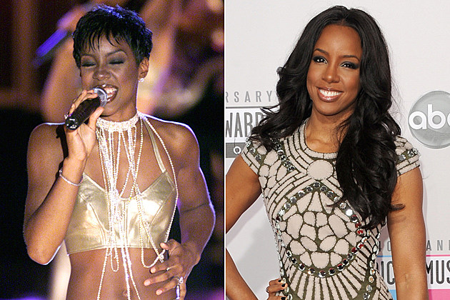 Kelly Rowland Short Hair and Long Hair