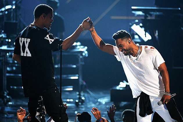 J Cole Miguel BET Awards