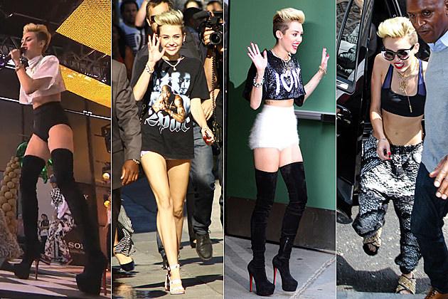 Miley Cyrus Jimmy Kimmel Good Morning America