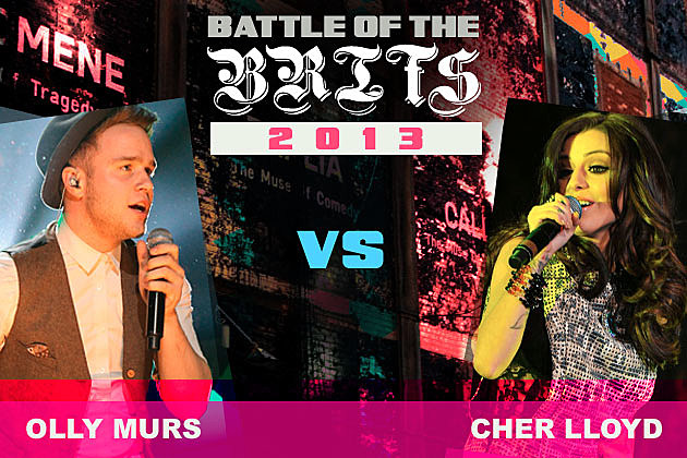 Olly Murs Cher Lloyd Battle of the Brits