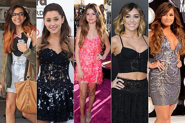 Jade Thirlwall Ariana Grande Selena Gomez Miley Cyrus Demi Lovato Ombre Hair