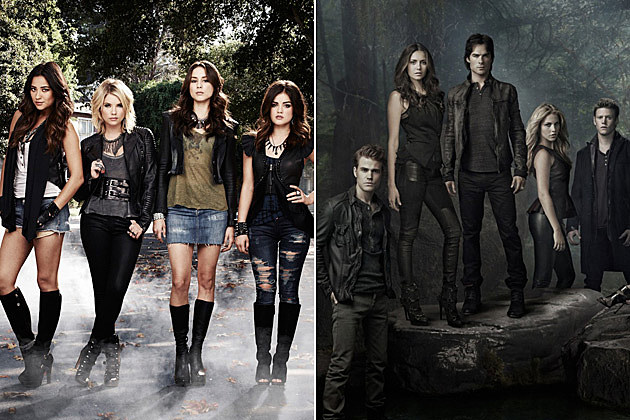 Pretty Little Liars The Vampire Diaries