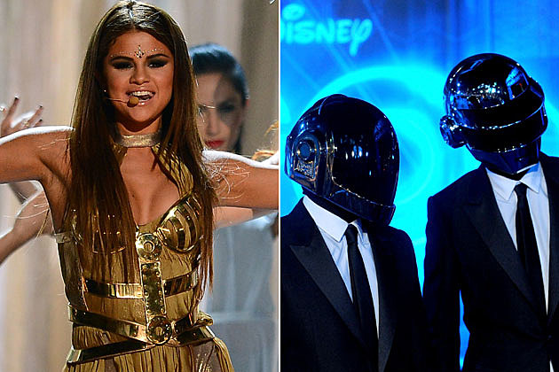 Selena Gomez Daft Punk