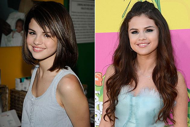 Selena Gomez Short Hair and Long Hair