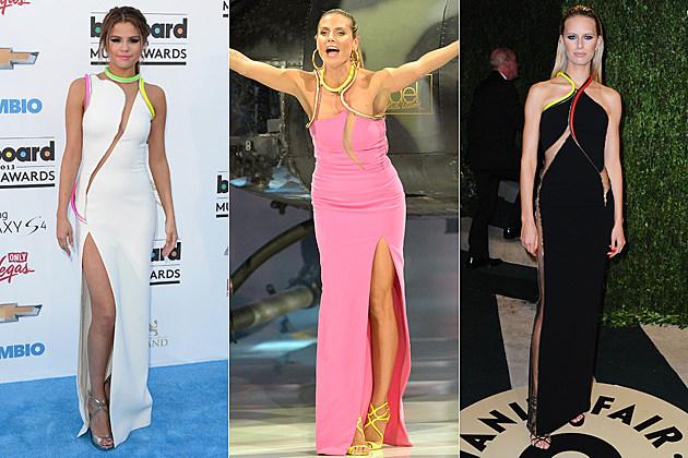 Selena Gomez Heidi Klum Karolina Kurkova