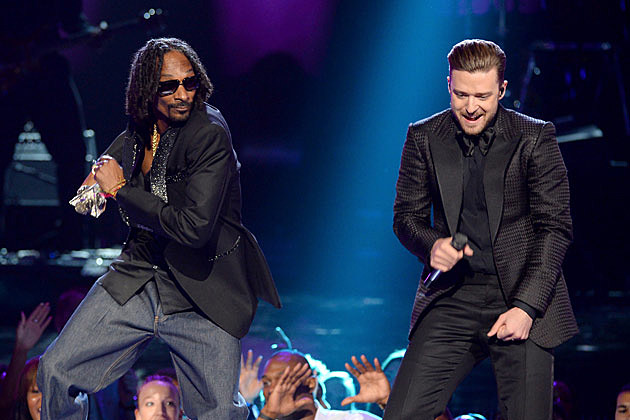 Snoop Dogg Justin Timberlake BET Awards