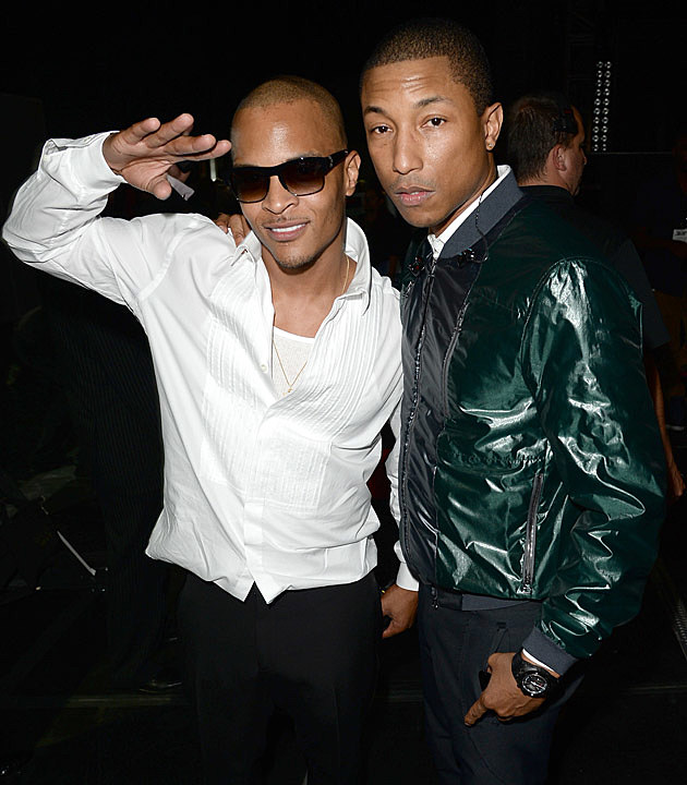 TI Pharrell BET Awards