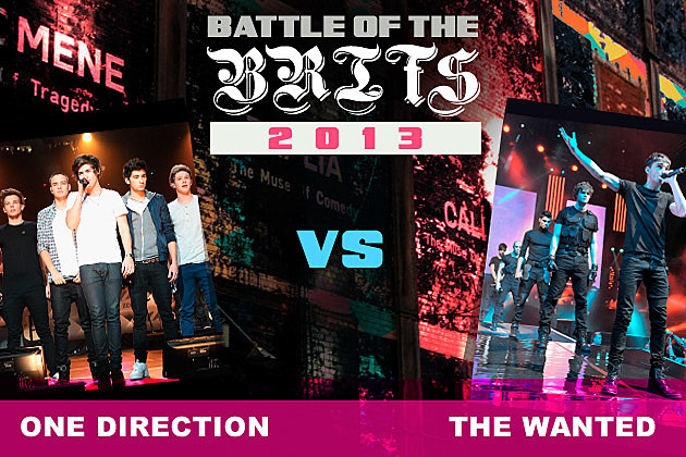 One Direction The Wanted Battle of the Brits