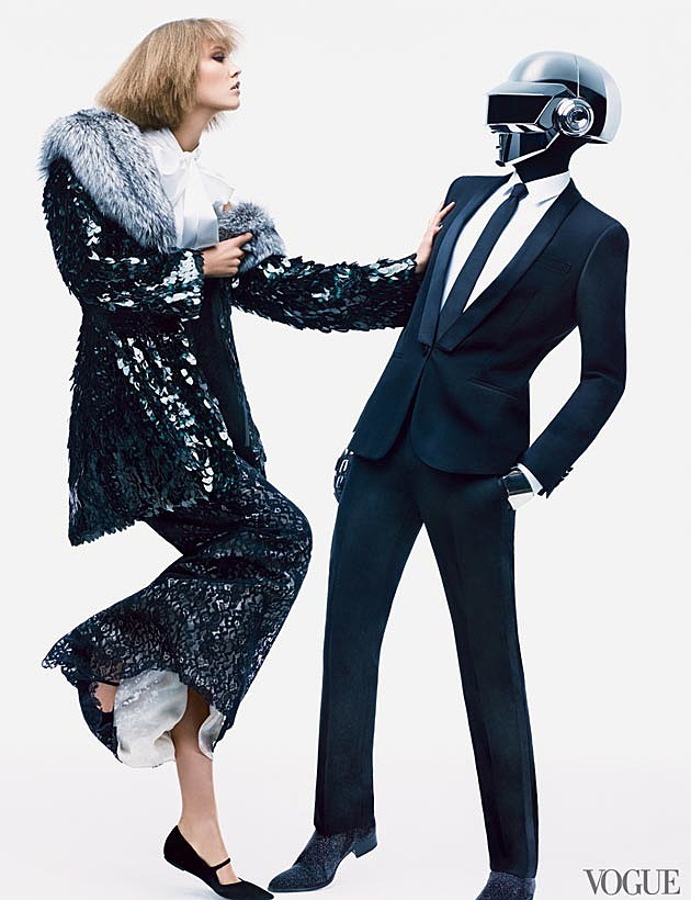 Daft Punk Karlie Kloss Vogue