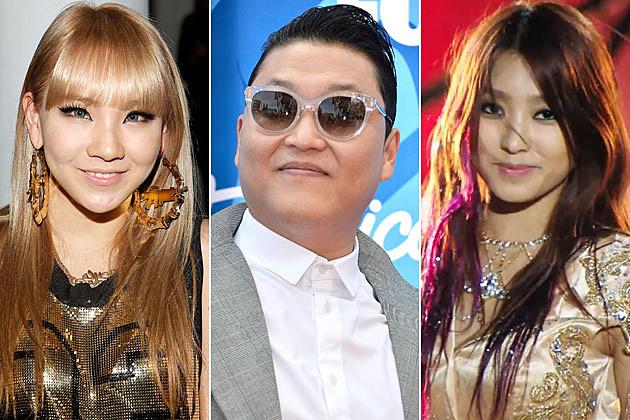 2NE1 Psy Sistar
