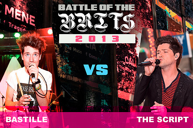 Bastille The Script Battle of the Brits