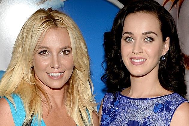 Britney Spears Katy Perry Smurfs 2 Premiere