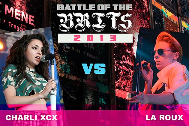 Charli XCX La Roux Battle of the Brits