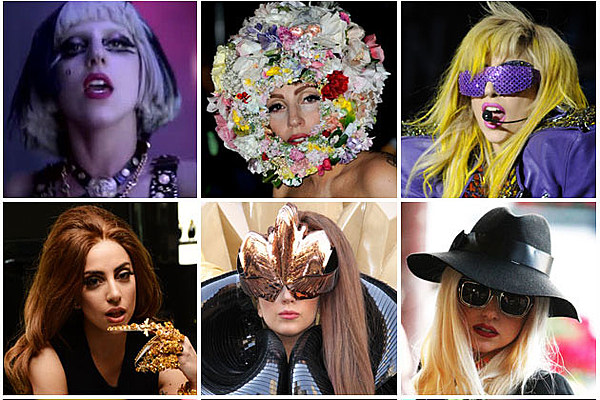 The Many Looks of Lady Gaga [Pictures]