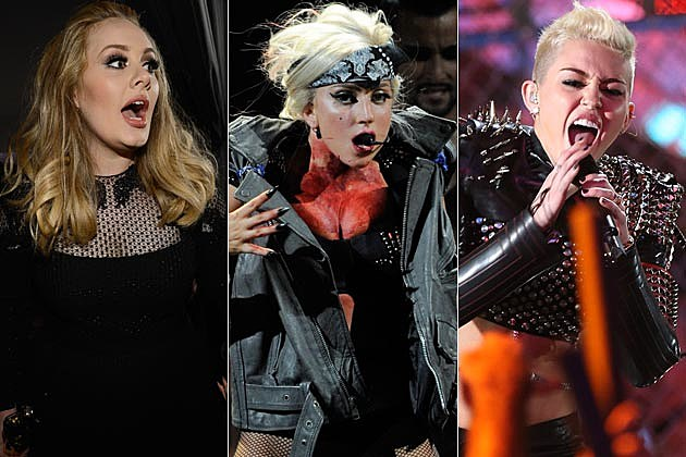 Adele Lady Gaga Miley Cyrus Ghost Stories