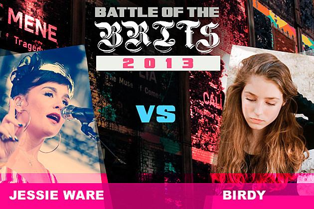 Jessie Ware Birdy Battle of the Brits
