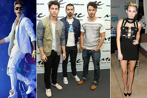 Jonas Brothers Talk Justin Bieber, Miley Cyrus + Their Own New Album 'V'