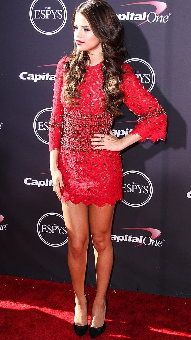 Selena Gomez Dolce & Gabbana ESPYs 2013