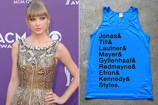Taylor Swift Fans Furious Over 'Ex-Boyfriend' Tee [Pics]
