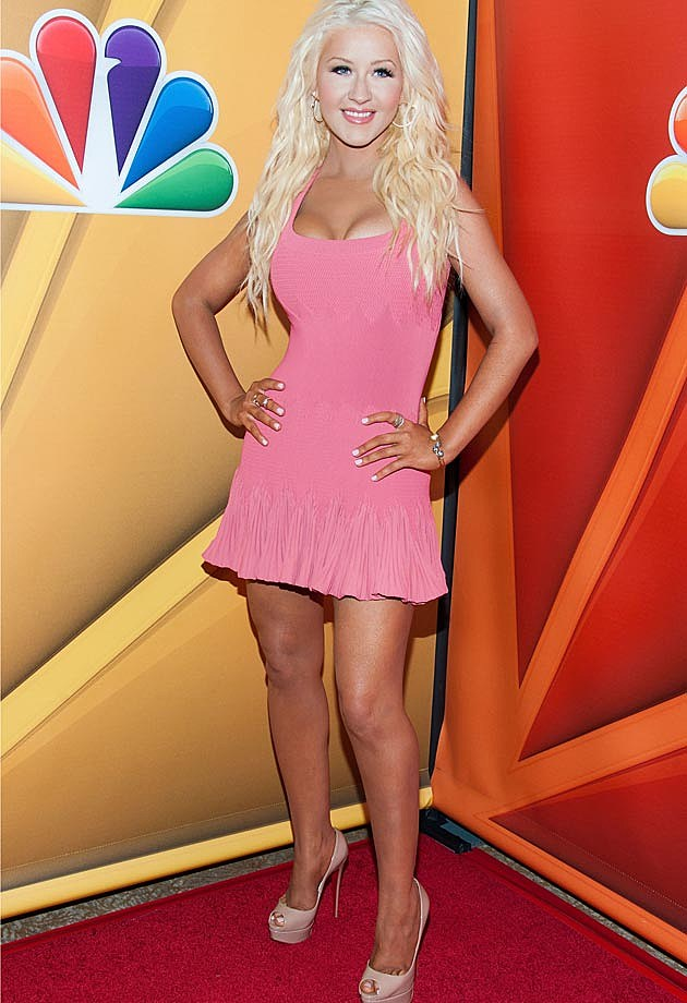 Christina Aguilera Pink Alaia The Voice Season 5