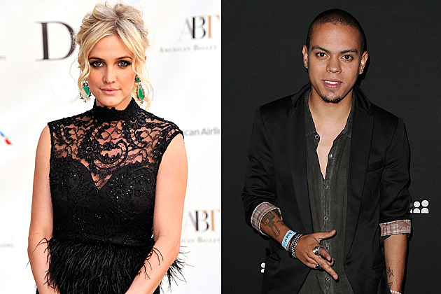 Ashlee Simpson Evan Ross
