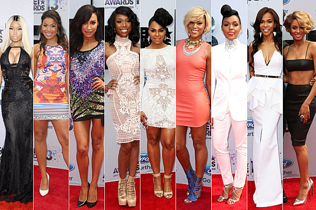 Nicki Minaj Jordin Sparks Naya Rivera Brandy Ashanti Eve Janelle Monae Michelle Williams Ciara
