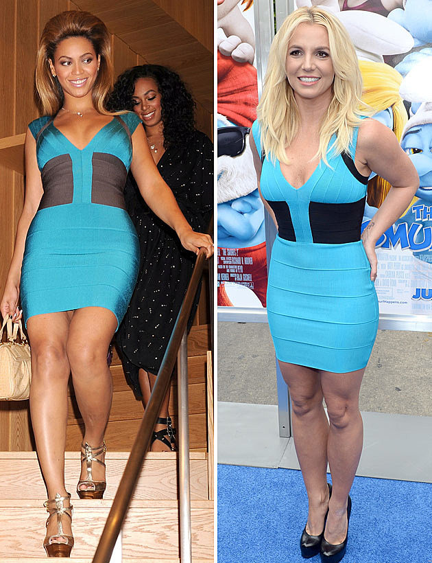 beyonce vs britney spears who wore it best