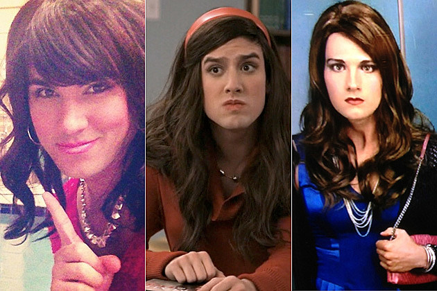 Big Time Rush in Drag