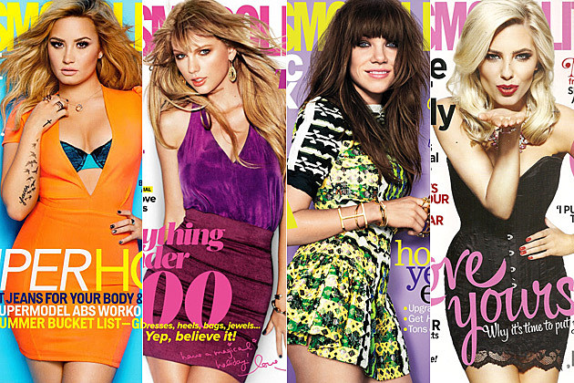 Demi Lovato Taylor Swift Carly Rae Jepsen Mollie King Cosmopolitan Covers